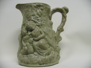 Jug from Samuel Alcock, Burslem, 1840 - 1850